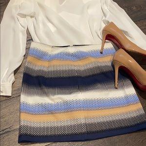 NEW!! Club Monaco Multi-colour Mini Skirt